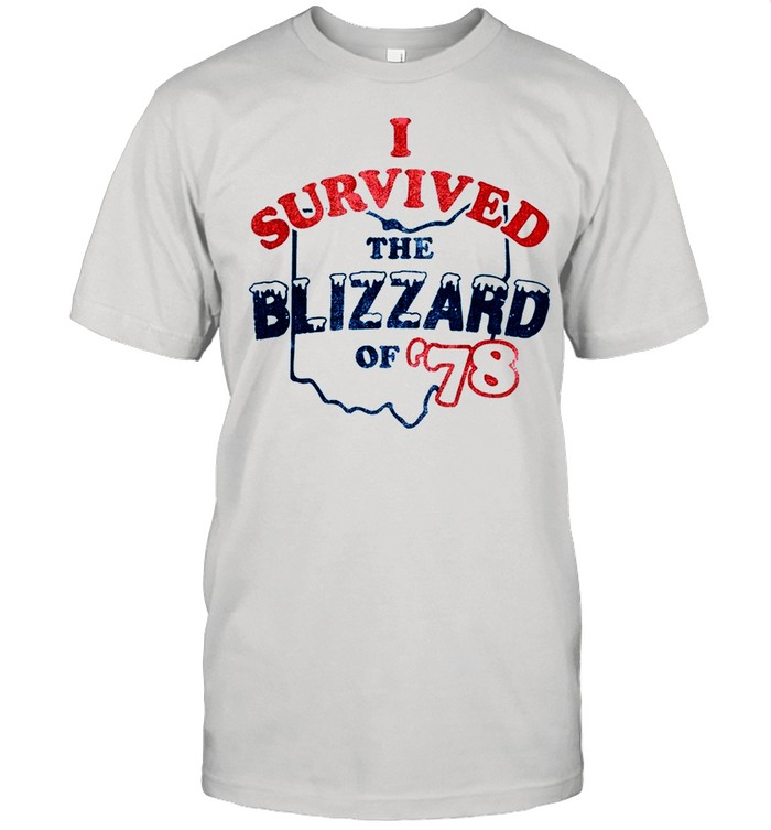 I survived the blizzard of 1978 shirt Classic Men's T-shirt