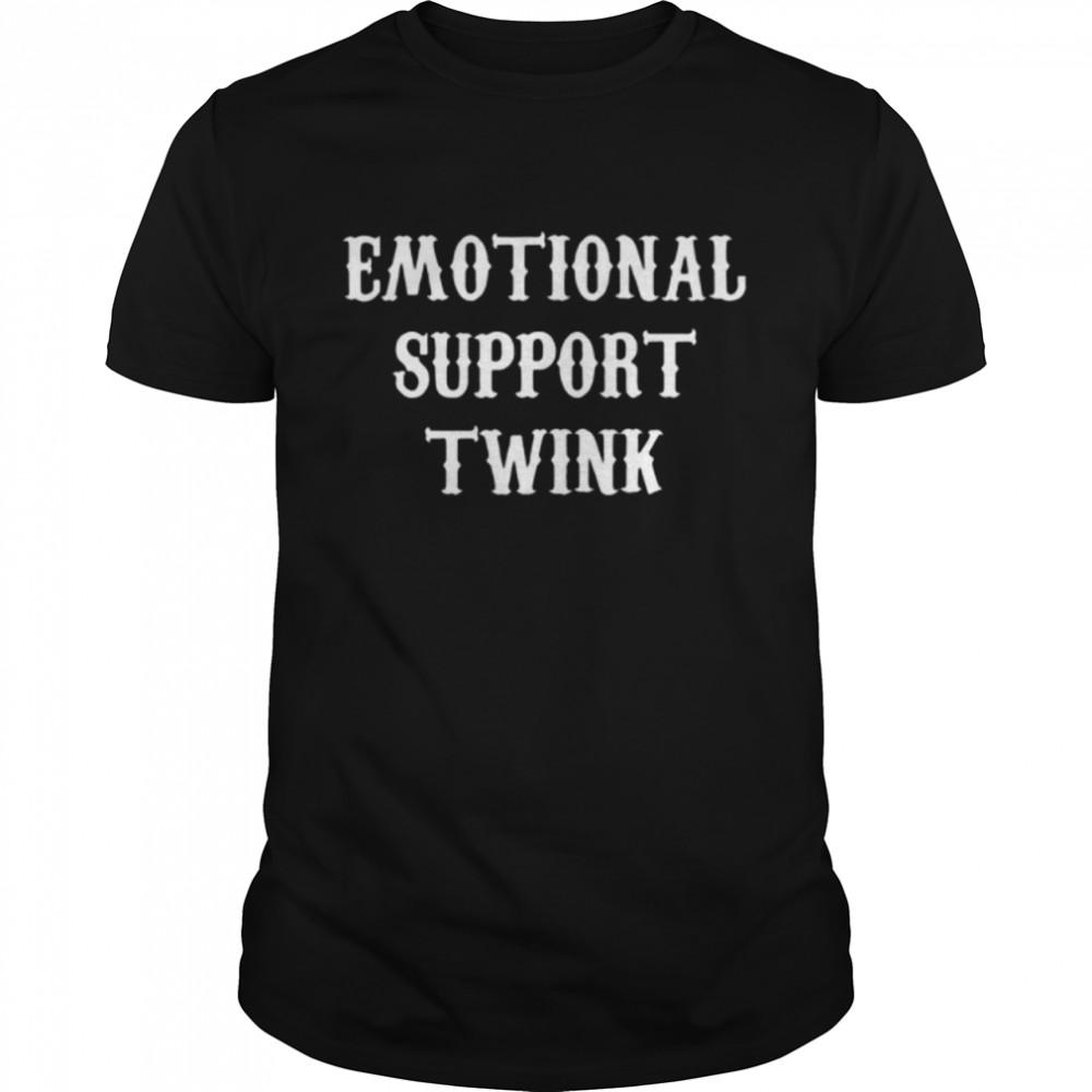 Emotional support twink shirt Classic Men's T-shirt