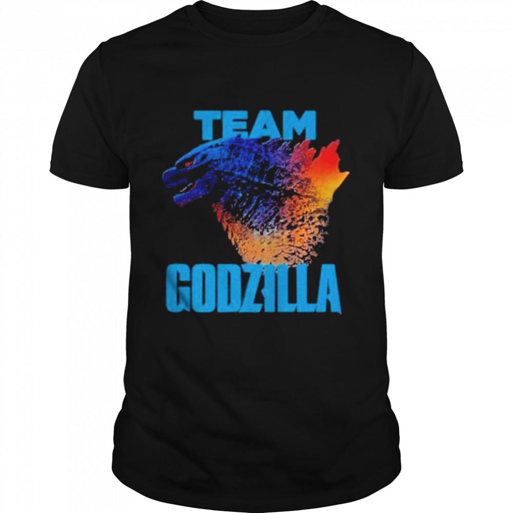 godzilla vs kong team godzilla neon 2021 shirt Classic Men's T-shirt