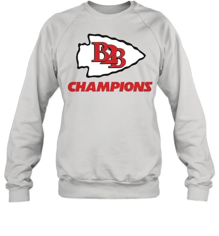 B2B Kansas City Champions shirt Unisex Sweatshirt