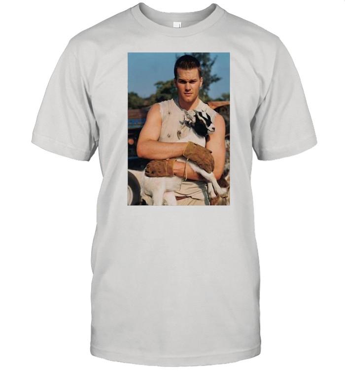 Tom Brady Goat shirt Classic Men's T-shirt