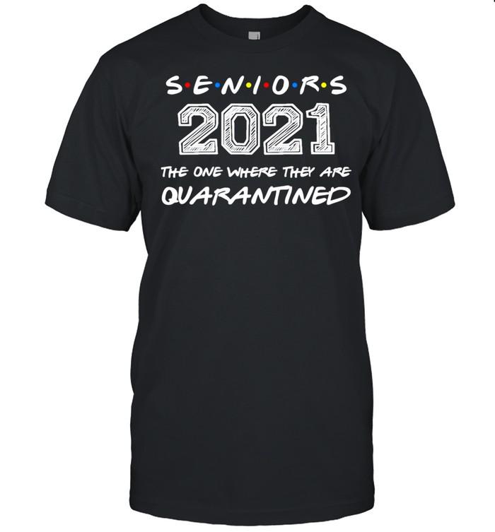 The One Where They Are Quarantined Seniors 2021 Graduation shirt Classic Men's T-shirt