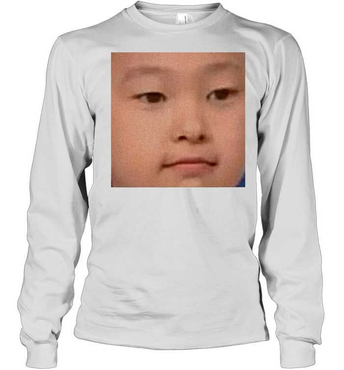 Baby Choerry Face shirt Long Sleeved T-shirt