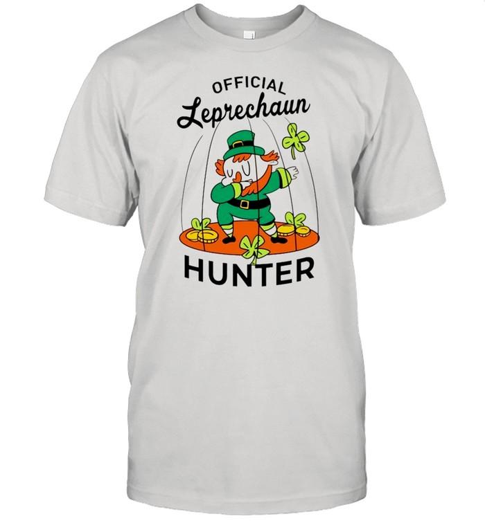 2021 Leprechaun hunter St Patricks Day shirt Classic Men's T-shirt