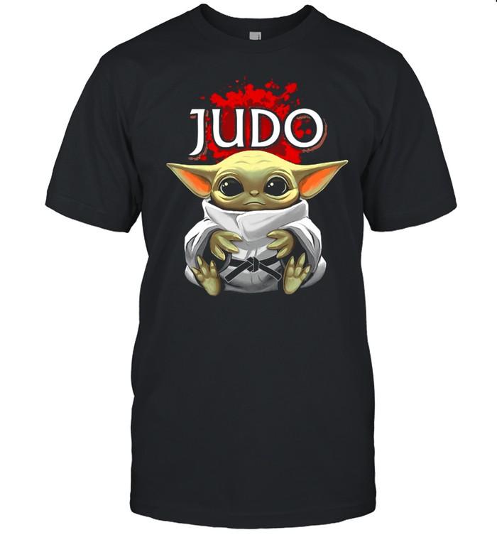 Baby Yoda And Judo In Japan shirt Classic Men's T-shirt