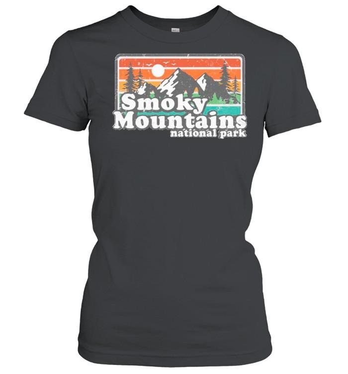 Smoky mountains national park shirt Classic Women's T-shirt