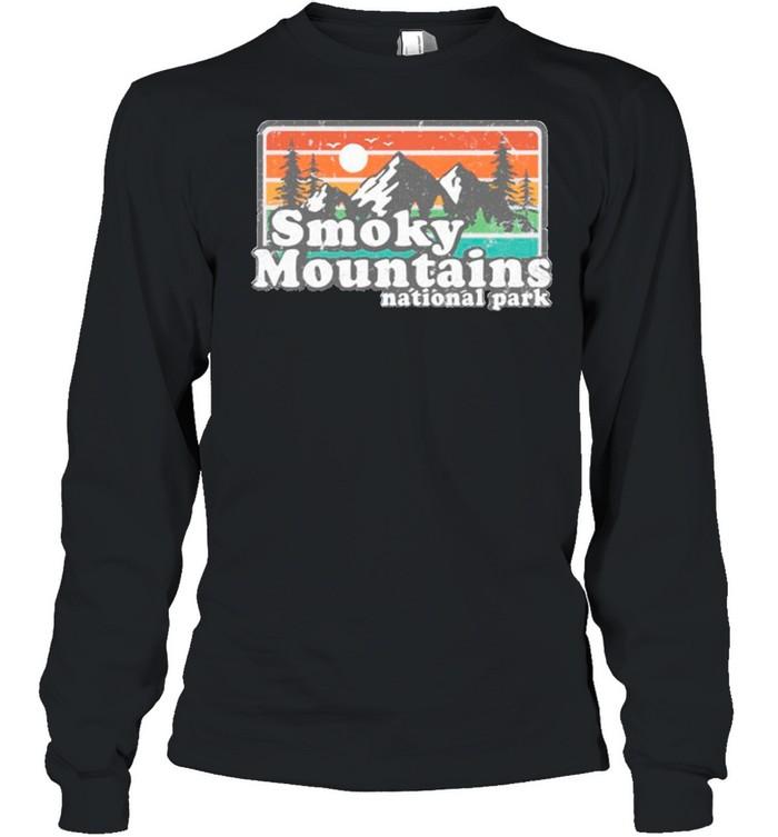 Smoky mountains national park shirt Long Sleeved T-shirt
