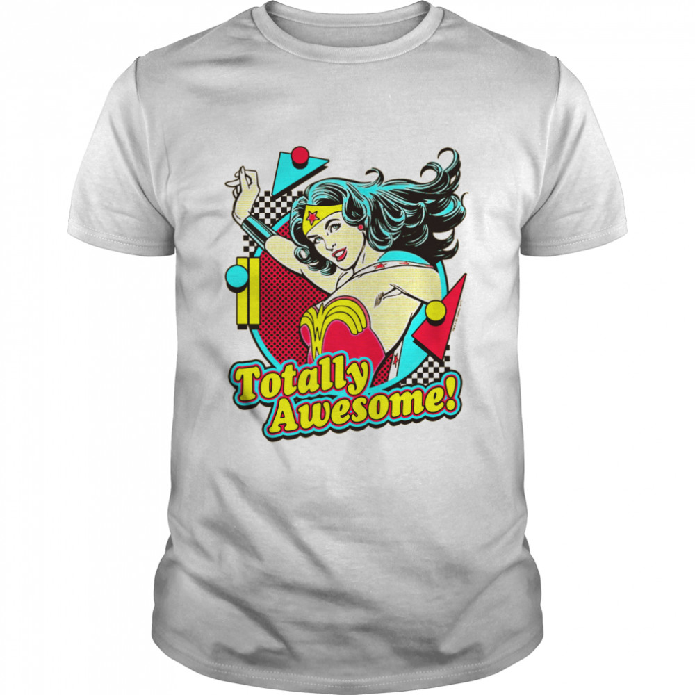 Wonder Totally Awesome shirt Classic Men's T-shirt