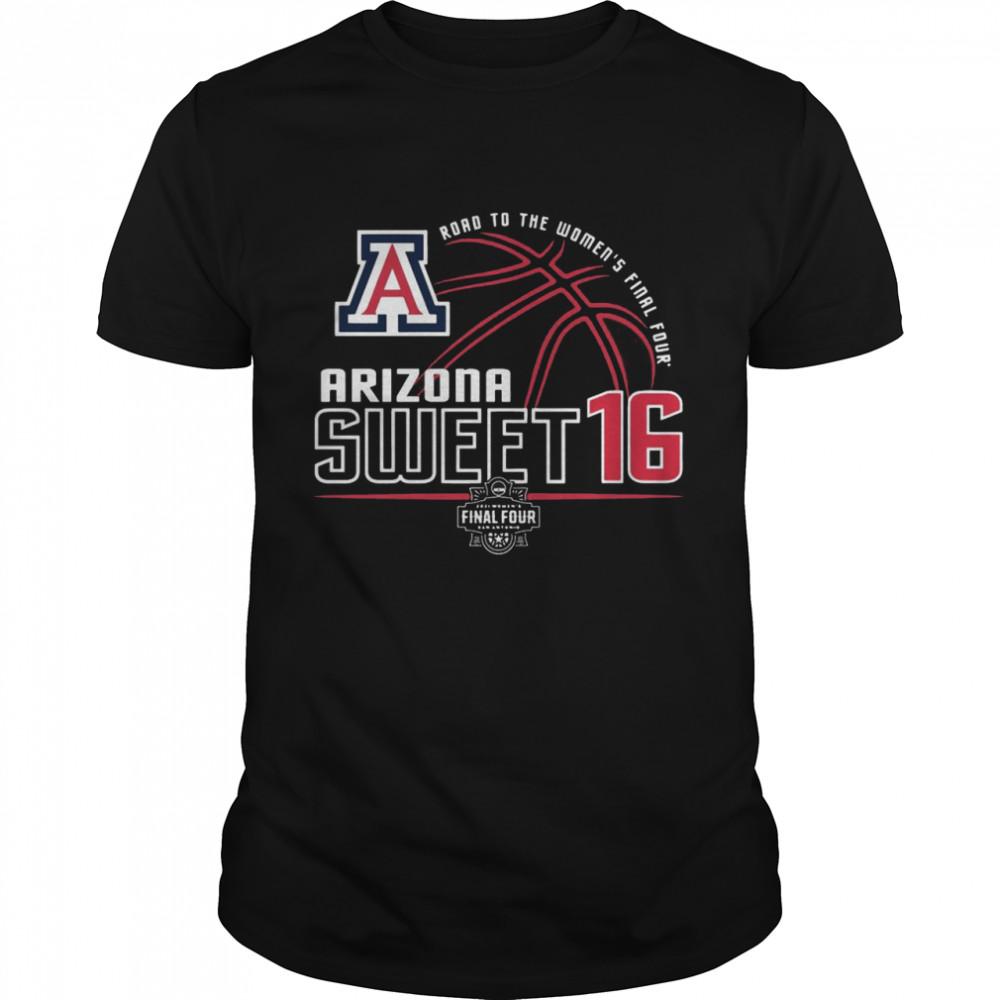 Arizona 2021 SWEET 16 Womens Road to Final Four shirt Classic Men's T-shirt