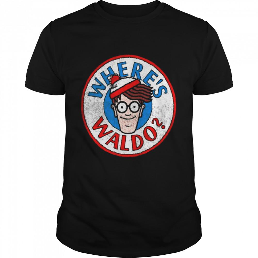 Where's Waldo Classic Circle Logo  Classic Men's T-shirt
