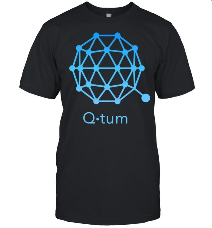 QTUM Crypto Blockchain technology Decentralized Finance DEFI  Classic Men's T-shirt