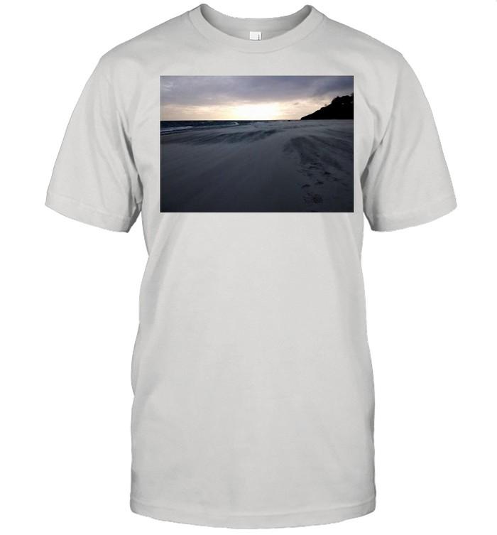 Beach Chilling Sunset T-shirt Classic Men's T-shirt