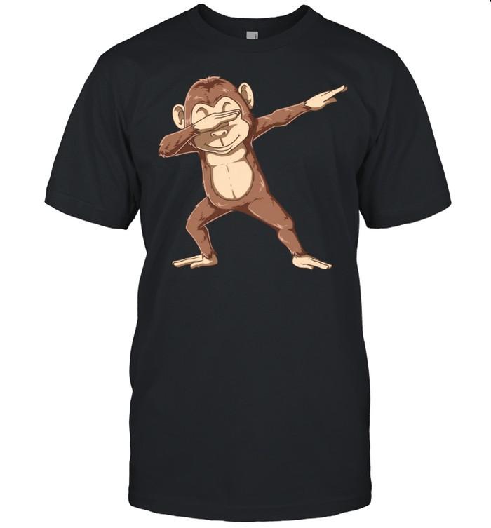 Dabbing Monkey Monkeys Monkey Dab Dance shirt Classic Men's T-shirt
