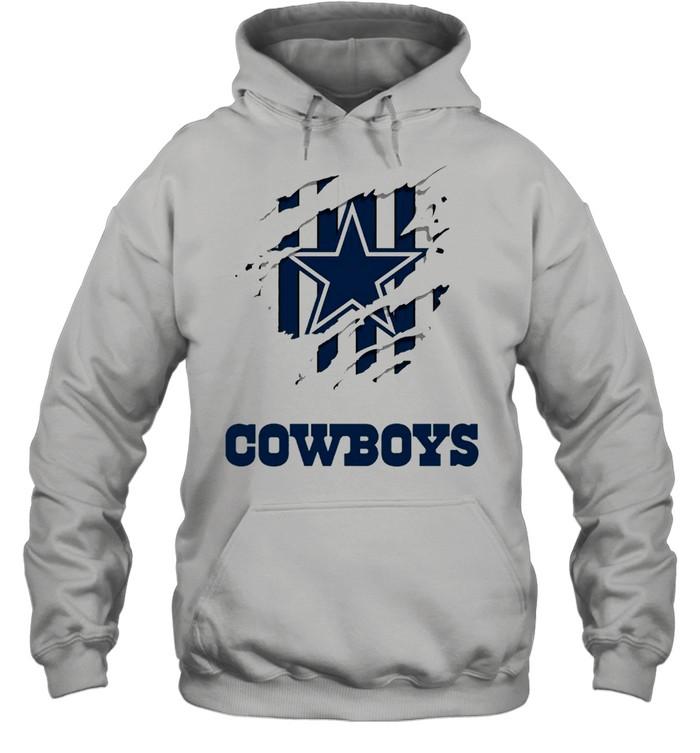 Dallas Cowboys Logo Claw shirt Unisex Hoodie