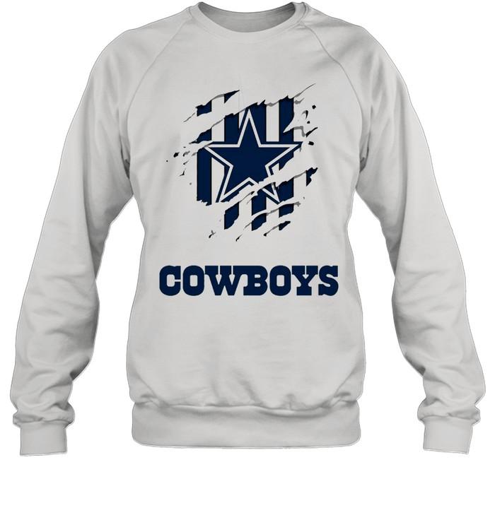 Dallas Cowboys Logo Claw shirt Unisex Sweatshirt