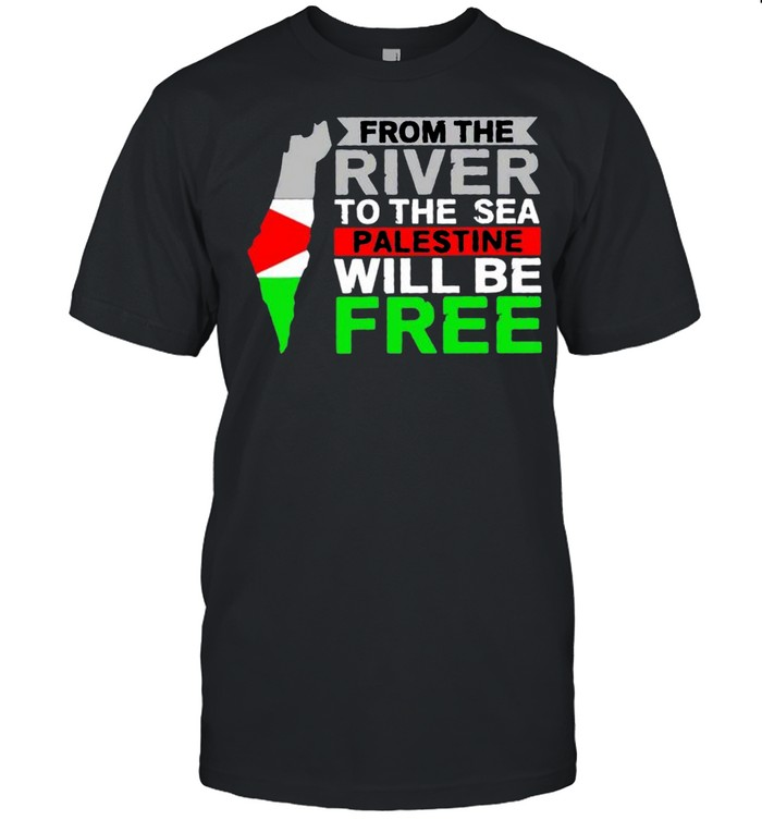 From the river to the sea palestine will be free shirt Classic Men's T-shirt