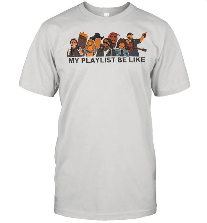 My Playlist Be Like  Classic Men's T-shirt