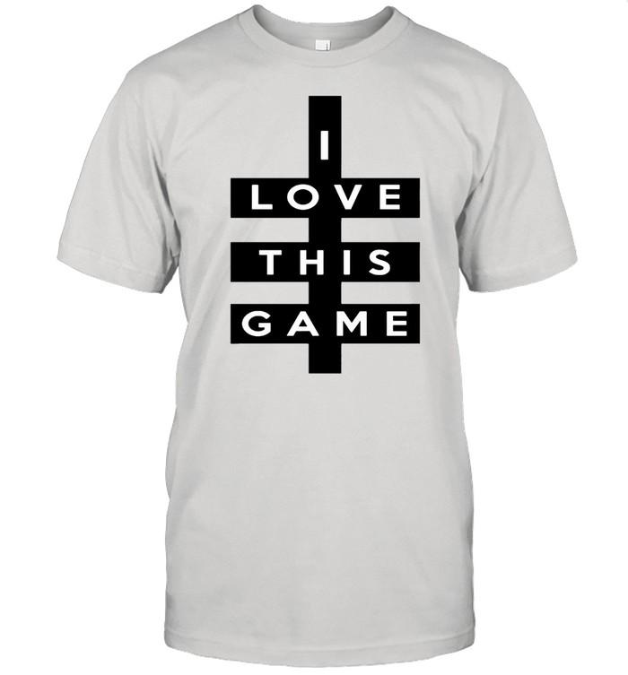 I love this game shirt Classic Men's T-shirt