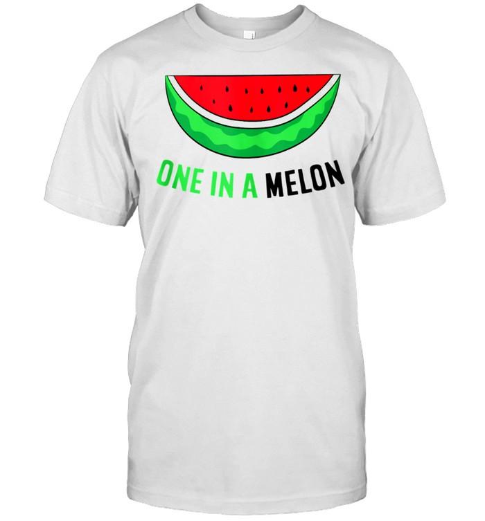 Watermelon Somme Melon One From A Melon shirt Classic Men's T-shirt