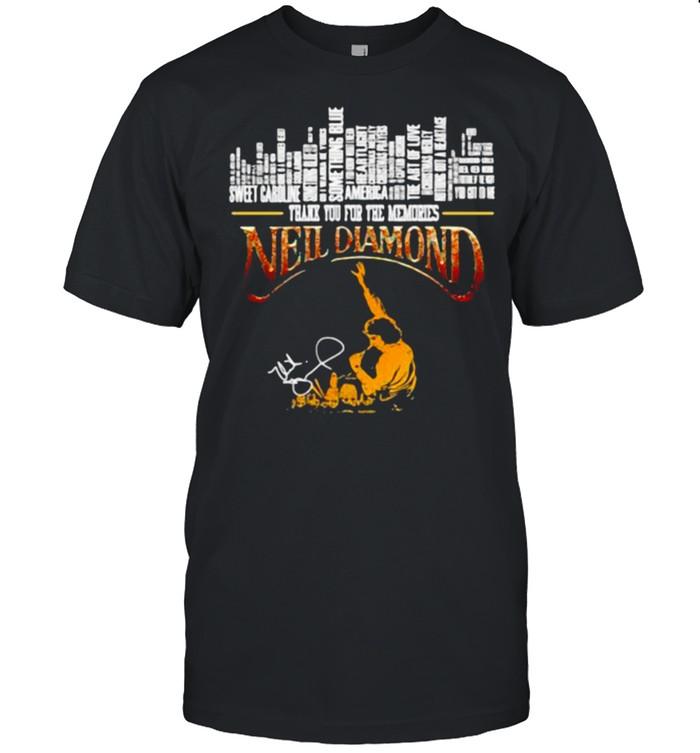 THank You For The Memories Neil Diamond  Classic Men's T-shirt