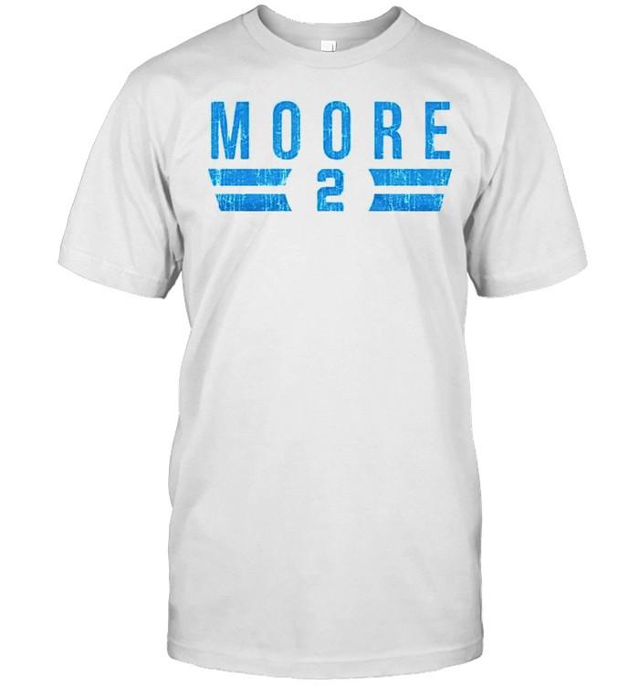 Carolina Panthers D.J. Moore 2 shirt Classic Men's T-shirt