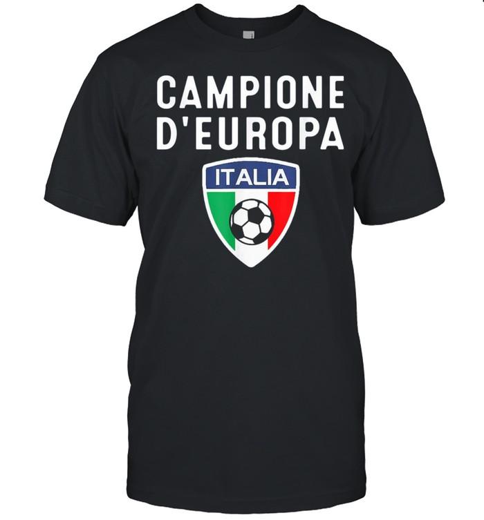 Italy Champions Football Of Europe 2021 shirt Classic Men's T-shirt