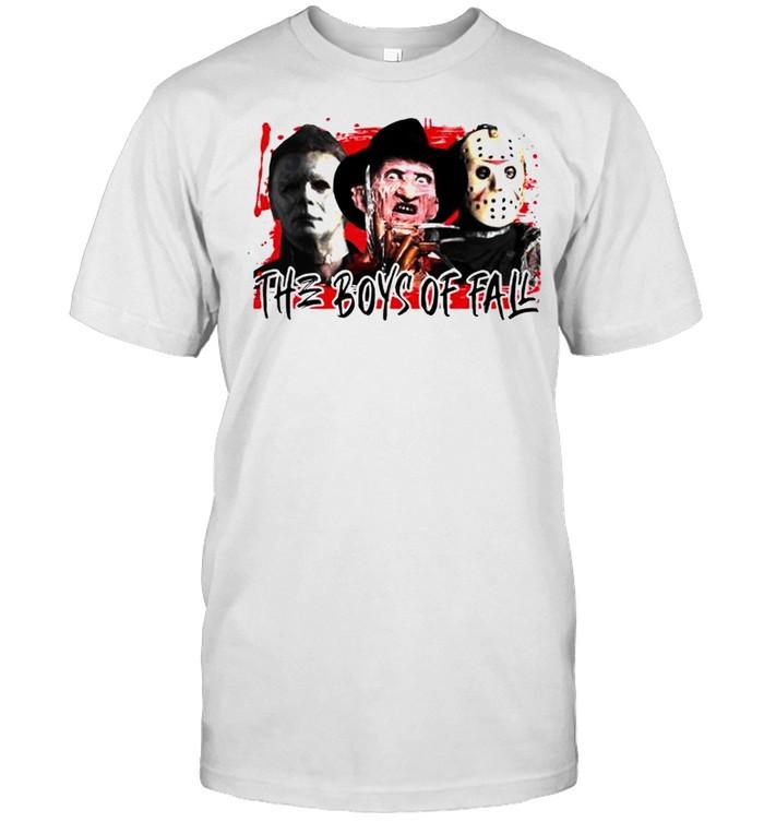 Halloween horror movies the boys of fall bleached shirt Classic Men's T-shirt
