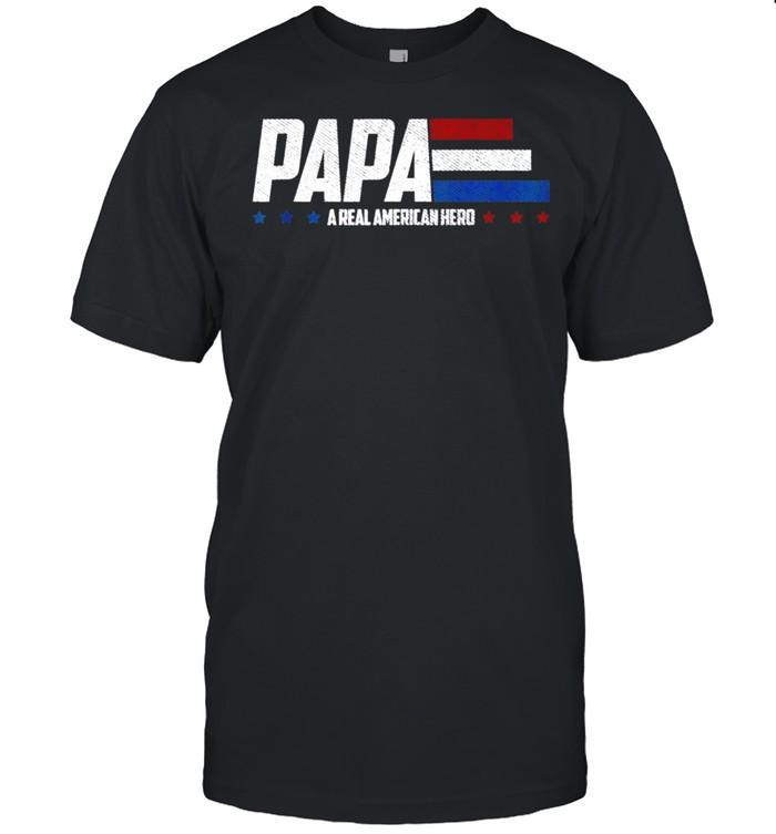 Papa A Real American Hero shirt Classic Men's T-shirt