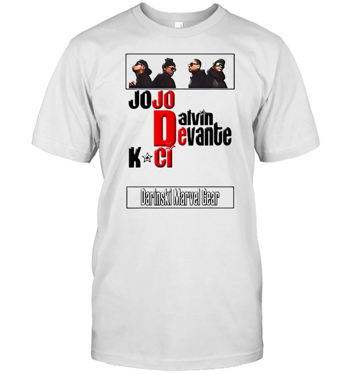 Jodeci The Bad Boys Of R&B T-shirt Classic Men's T-shirt
