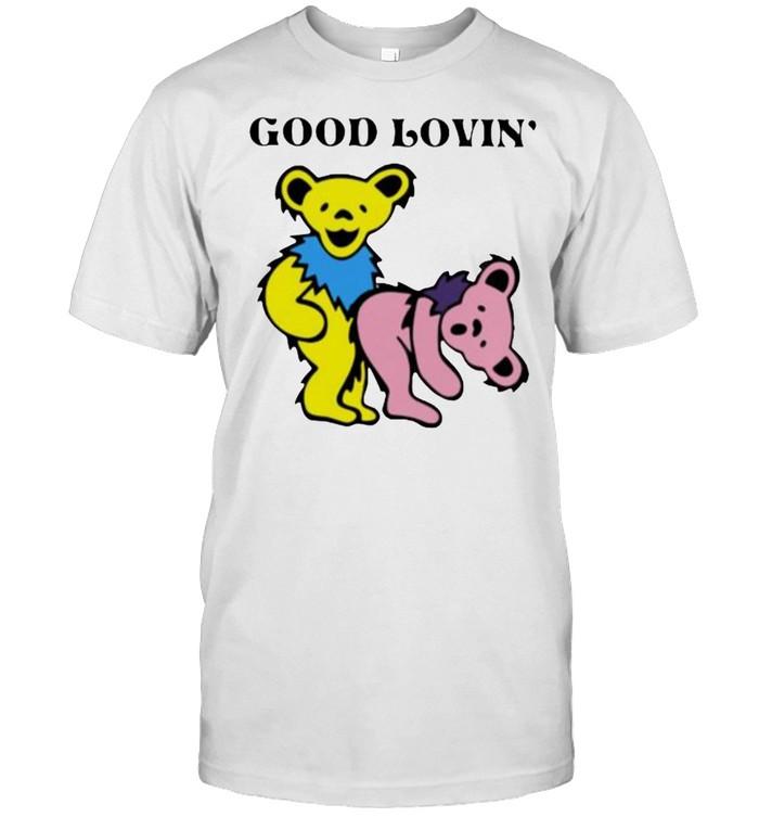 Good Loving Bear  Classic Men's T-shirt