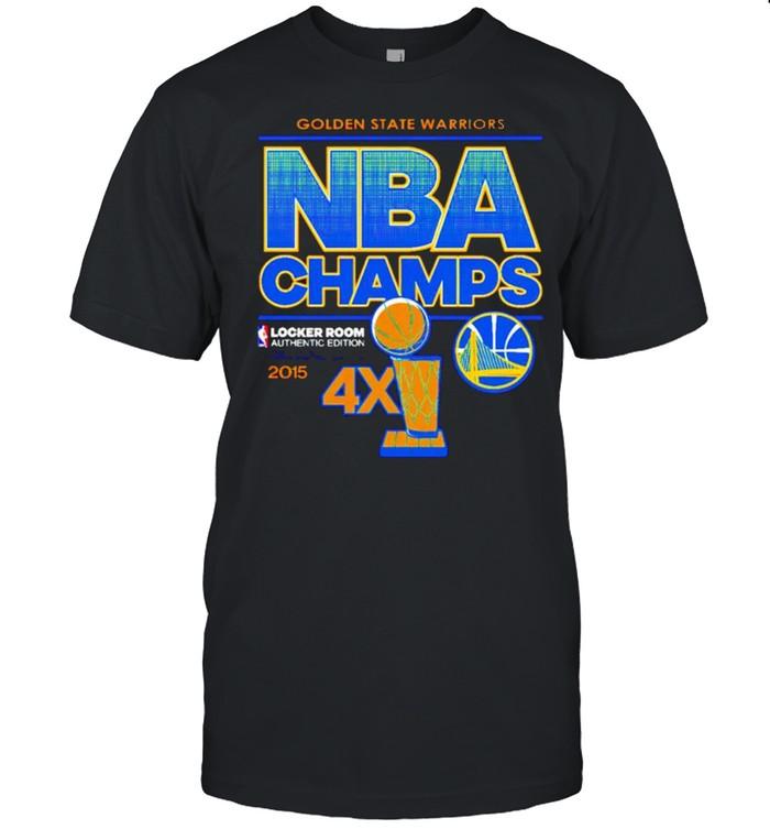Golden State Warriors NBA champs 2015 shirt Classic Men's T-shirt