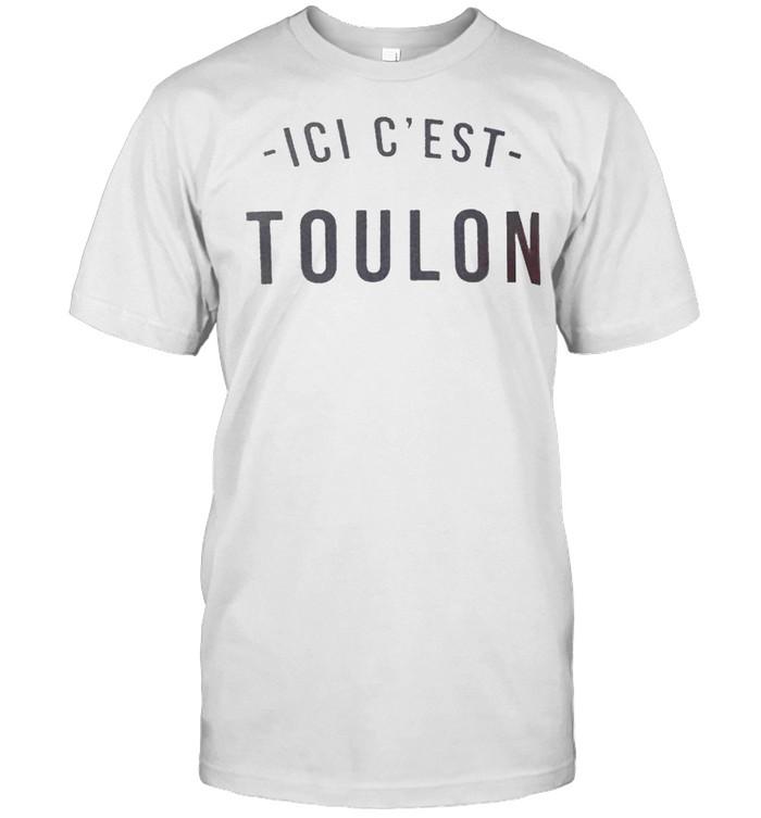 Lionel Messi Ici C'est Toulon shirt Classic Men's T-shirt