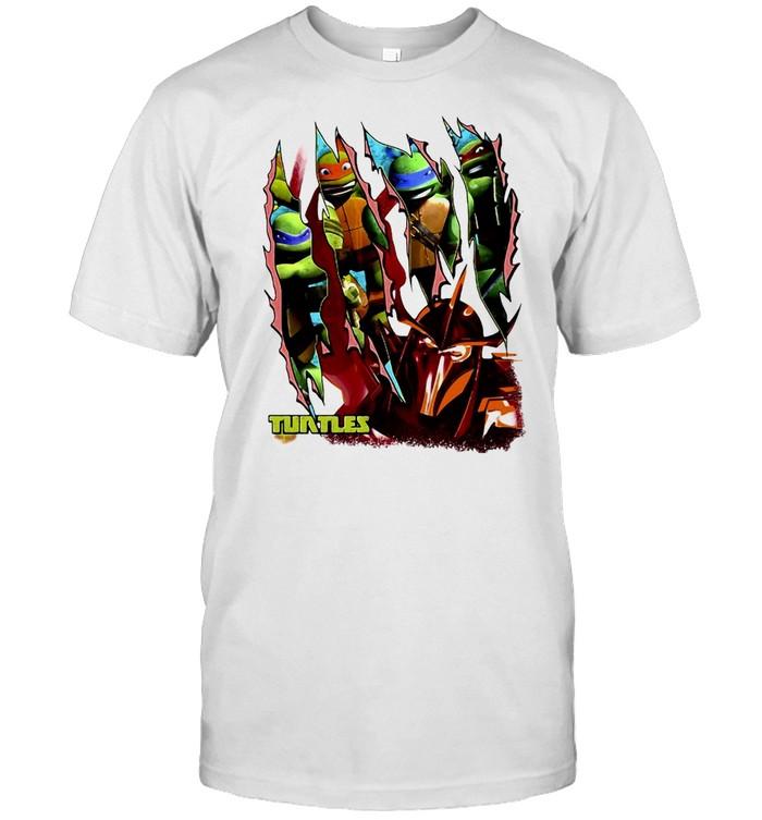 Teenage Mutant Ninja Turtles Shredder Slash T-shirt Classic Men's T-shirt