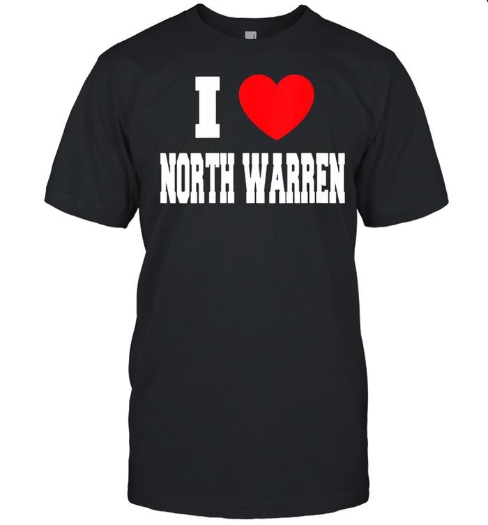 I Love North Warren shirt Classic Men's T-shirt