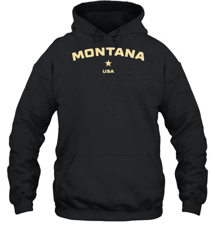 US States Montana Hometown MT Homeland Patriotic American shirt Unisex Hoodie