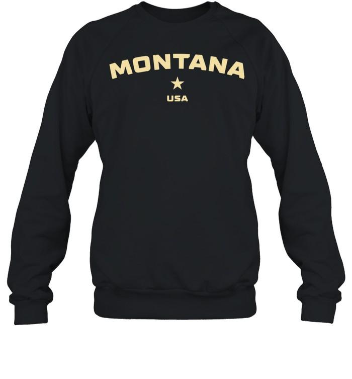 US States Montana Hometown MT Homeland Patriotic American shirt Unisex Sweatshirt
