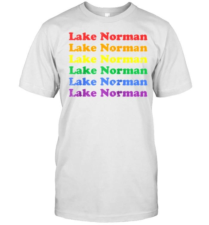 Lake Norman North Carolina LGBTQ Pride shirt Classic Men's T-shirt