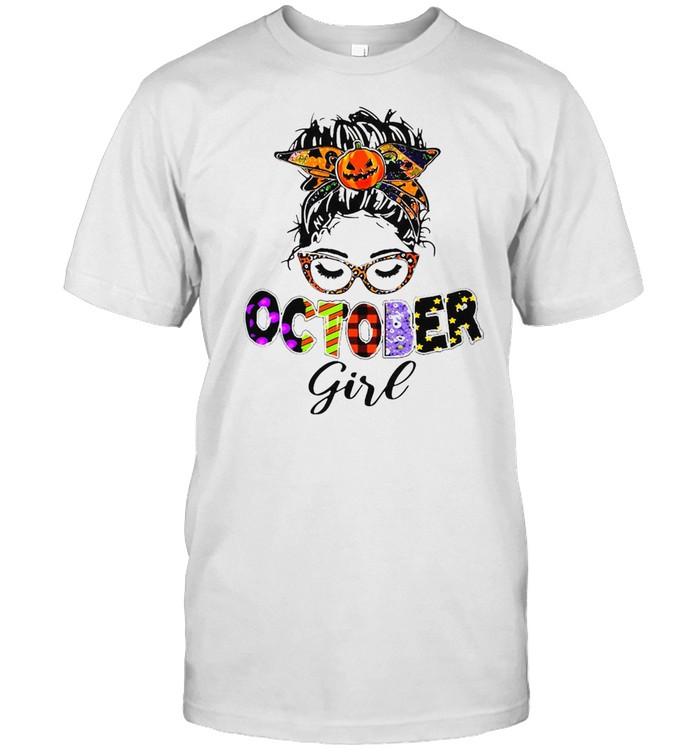 October Girl Happy Halloween T-shirt Classic Men's T-shirt