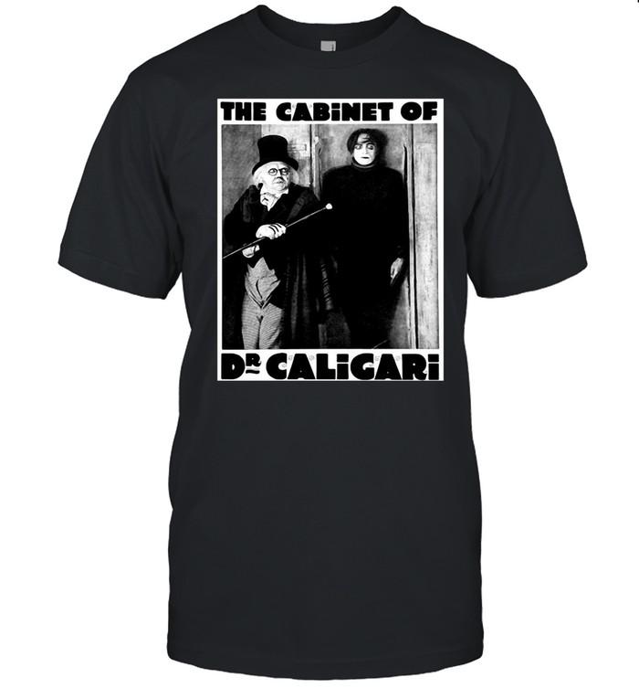 Horror Movie Dr Caligari Halloween Monster Poster Vintage T-shirt Classic Men's T-shirt