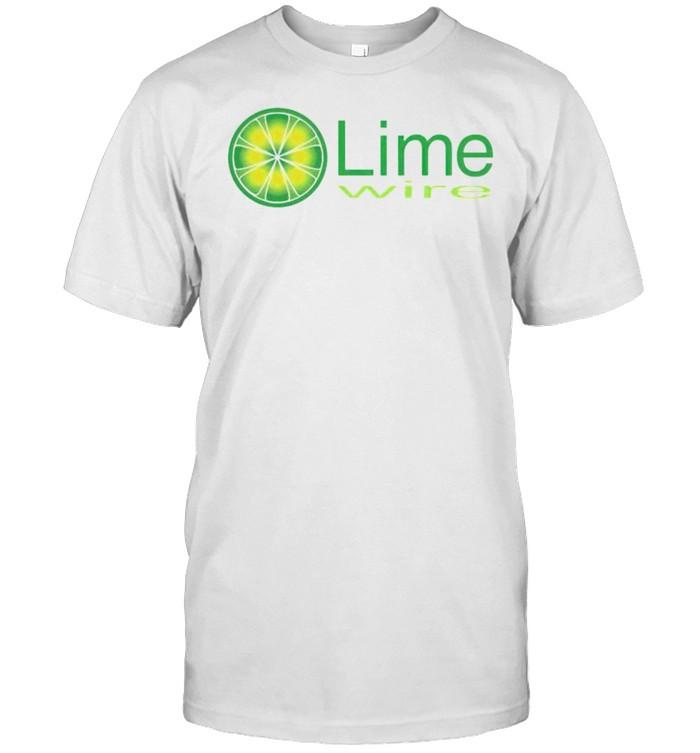 LimeWire vintage internet shirt Classic Men's T-shirt
