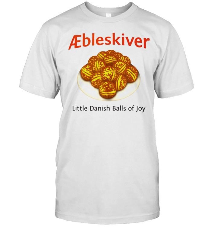 Aebleskiver little danish balls of joy shirt Classic Men's T-shirt