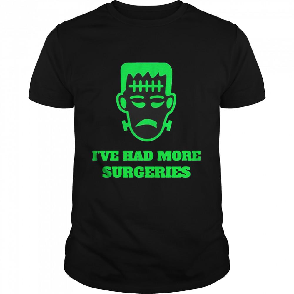 Frankenstein I've had more surgeries shirt Classic Men's T-shirt