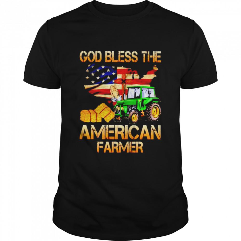 Tractor God bless the American farmer shirt Classic Men's T-shirt
