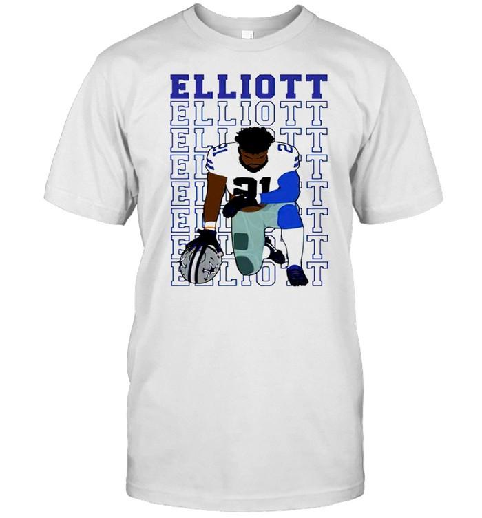 Elliott get ready for Zeke shirt Classic Men's T-shirt