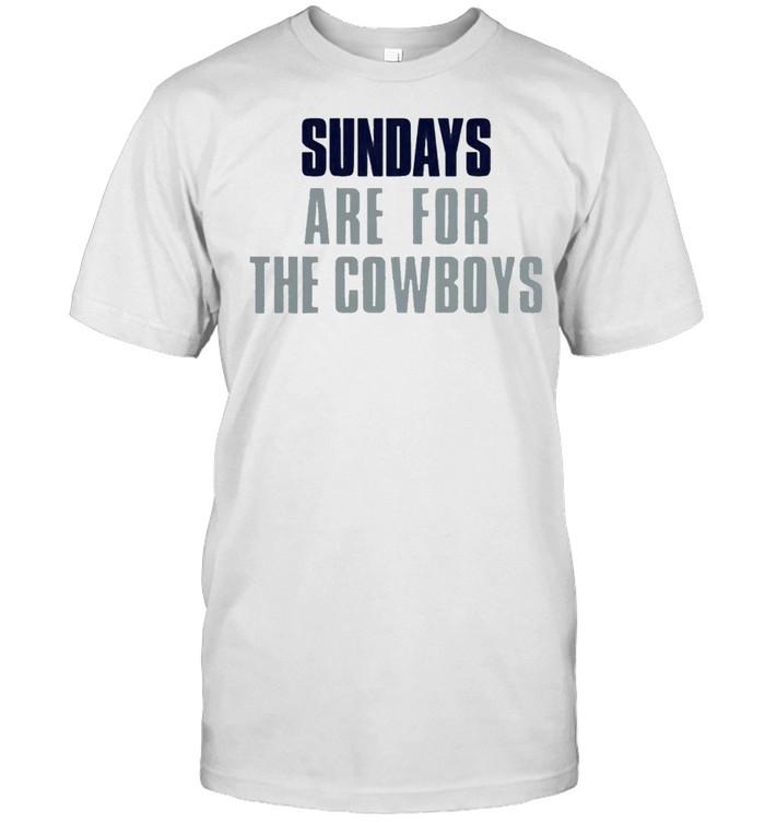 Sundays are for the Cowboys shirt Classic Men's T-shirt