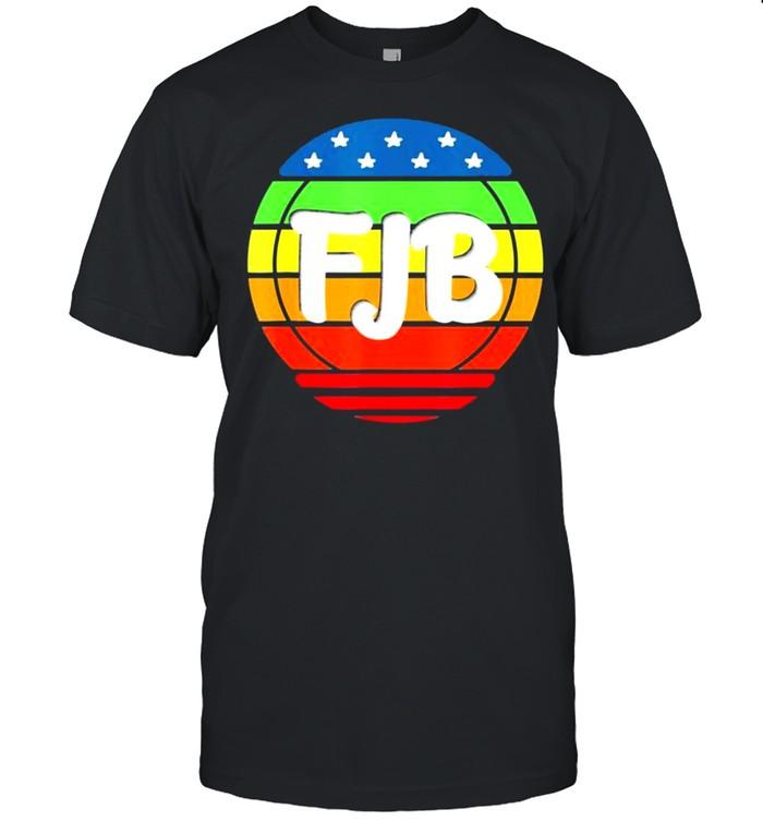 Trending FJB Pro America US Distressed Flag F Joe Biden FJB  Classic Men's T-shirt