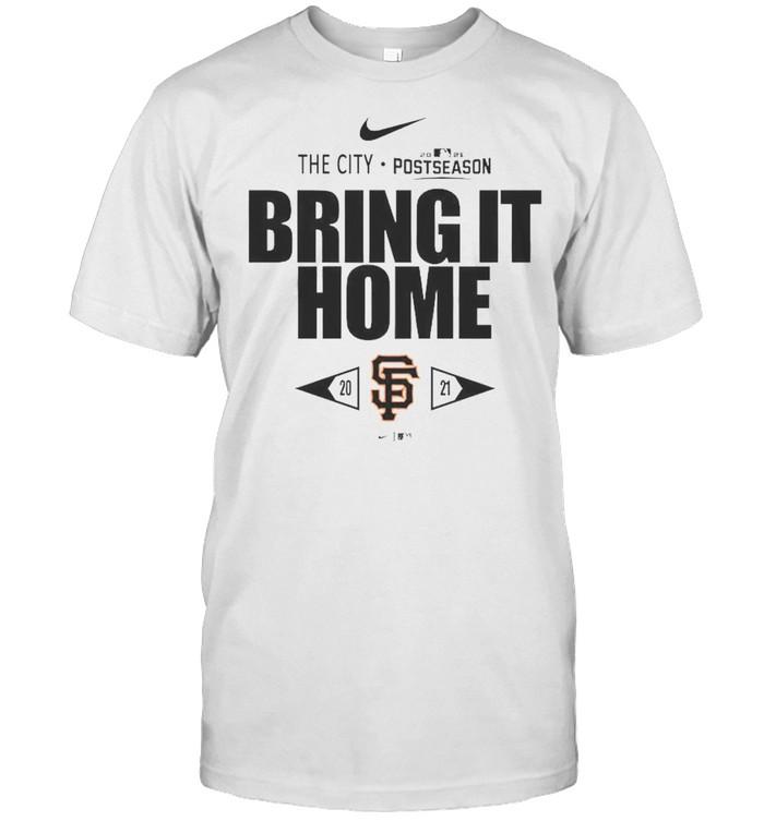 San Francisco Giants Bring It Home 2021 Postseason  Classic Men's T-shirt