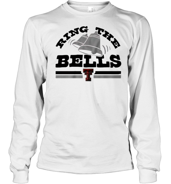 Texas Tech Red Raiders Ring the Bells  Long Sleeved T-shirt