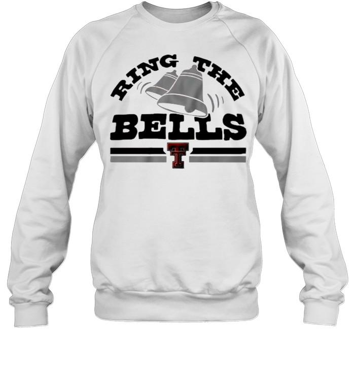 Texas Tech Red Raiders Ring the Bells  Unisex Sweatshirt