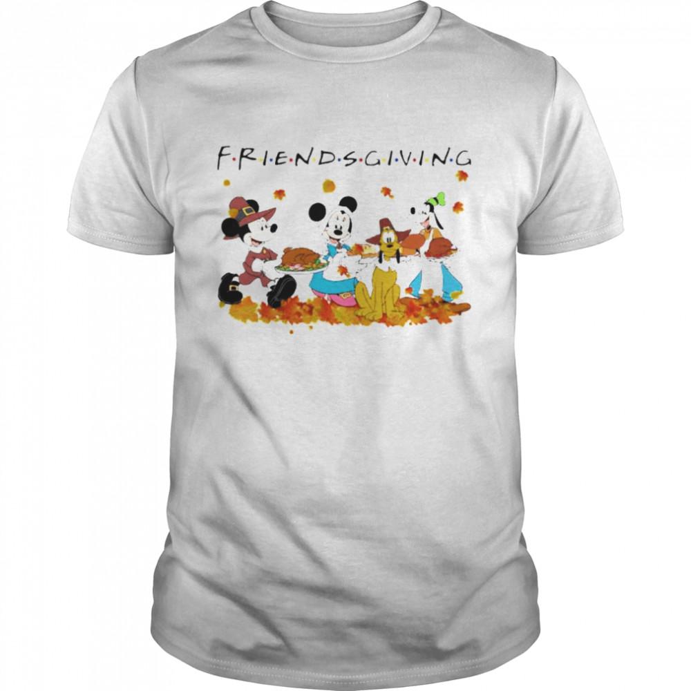 Disney characters Friends thanksgiving shirt Classic Men's T-shirt